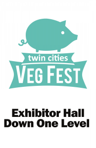 Twin Cities Veg Fest 2013 venue sign
